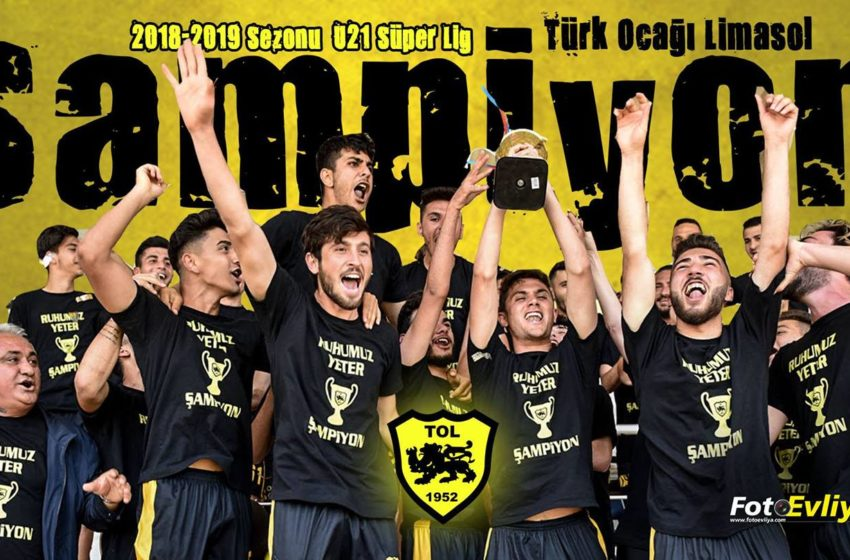 2018-2019 Sezonu U21 Süper Lig Şampiyonu TOL