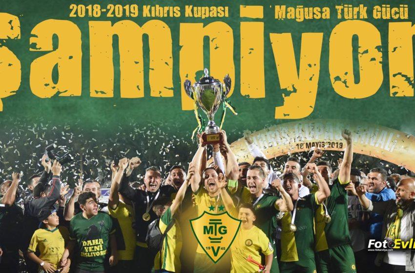 2018-2019 Sezonu Kıbrıs Kupası Şampiyonu Mağusa Türk Gücü