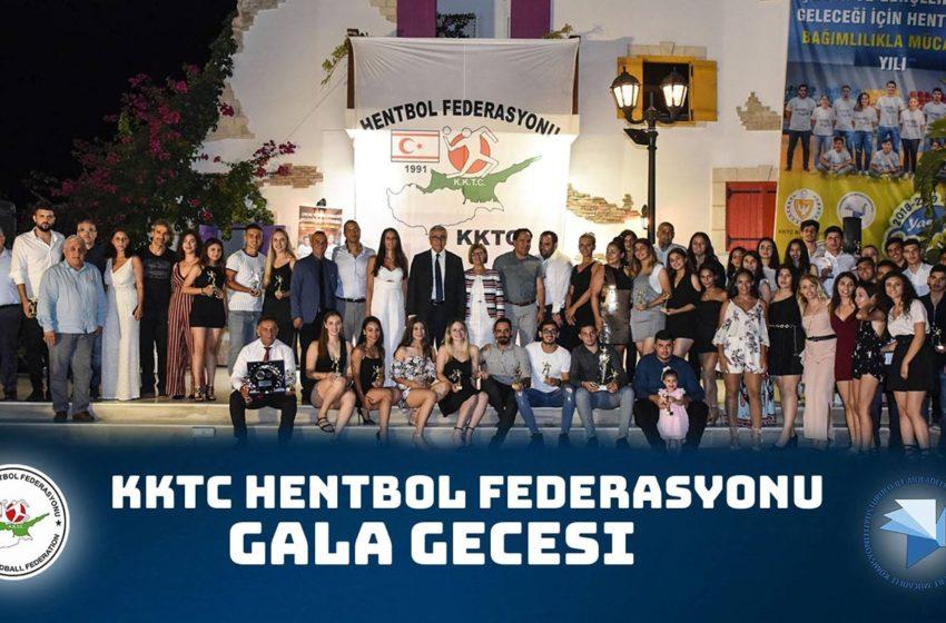 KKTC Hentbol Federasyonu Gala Gecesi 2019