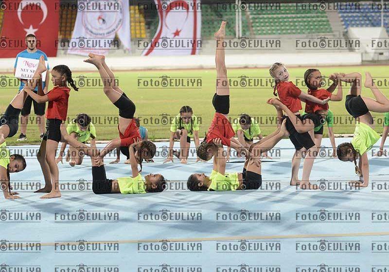 2.Özğür Çocuk Cimnastik Şöleni