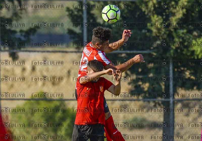 Gönyeli SK-Çetinkaya TSK(U21 Hazırlık Maçı)